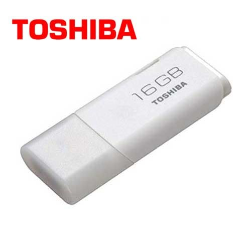 Toshiba Hayabusa 悠遊碟 16GB 白 USB2.0 隨身碟 (UHYBS-016GH)