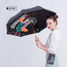 【德國boy】三折超輕防曬防潑水晴雨傘(狐先森)