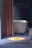 浴室吸水防滑墊家用進門淋浴房門口腳墊臥室門墊廁所墊衛生間地墊  扣子小鋪