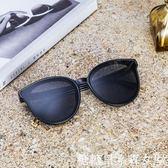 新款圓形太陽鏡女士圓臉韓版復古網紅彩色墨鏡男潮明星款眼鏡