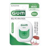 GUM 牙周護理牙線 (含蠟膨脹型) (40m) 【康是美】
