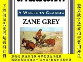 二手書博民逛書店The罕見Rustlers of Pecos CountyY410016 Zane Grey Start Pu