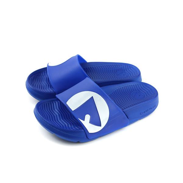 Airwalk 拖鞋 防水 童鞋 深藍色 中童 A823220282 no006