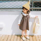 【618好康又一發】女童連身裙韓版洋氣女寶寶背帶裙兒童裙子