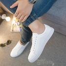 板鞋秋季男鞋小白鞋男韓版白色板鞋男運動休閒鞋透氣 雲朵走走