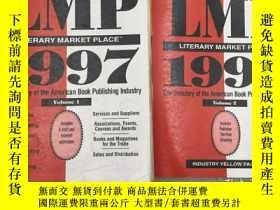 二手書博民逛書店Literary罕見Market Place: 1997 Vol