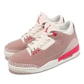 Nike 籃球鞋 Wmns Air Jordan 3 Retro 粉紅 Rust Pink 爆裂紋 女鞋 AJ3 喬登 【ACS】 CK9246-600