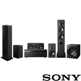 SONY 4K HDR劇院組 (STR-DN1080+SS-CS系列揚聲器+SA-CS9)