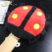 促銷款滑鼠墊 usb發熱暖手滑鼠墊可拆洗冬天保暖滑鼠套毛絨暖手寶