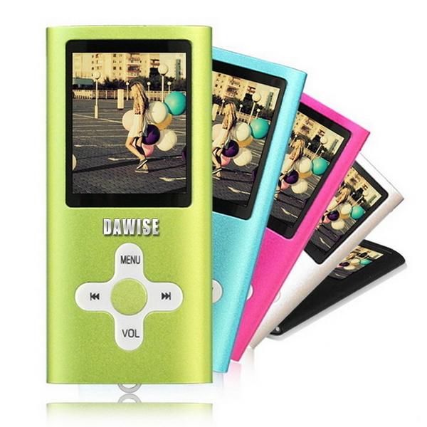 【B1825D】Dawise十字款插卡1.8吋彩色螢幕 MP4隨身聽(加32G記憶卡)(送6大好禮)