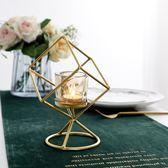 浪漫燈蠟燭臺簡約現代復古裝飾擺件 熊熊物語