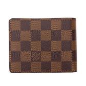 Louis Vuitton LV N61208 Slender 棋盤格紋雙折短夾 現貨  全新 預購【茱麗葉精品】