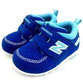 《7+1童鞋》小童 New Balance FS123RBI  魔鬼氈 學步鞋 9400  藍色