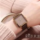 聚利時手錶女新款韓國時尚潮流學生錶正方形簡約皮帶時裝女錶 小時光生活館