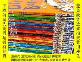 二手書博民逛書店英文罕見臟男孩波迪 Dirty Bertie系列 趣味讀物 第1-20本20本套裝 Dirty Bertie Wo