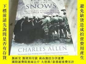 二手書博民逛書店DUEL罕見IN THE SNOWS The True Story of the Younghusband Mis