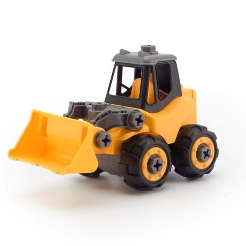《 OKKID 》DIY工程推土機 / JOYBUS玩具百貨
