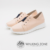 WALKING ZONE Steptown系列 好感舒適懶人踩腳女鞋-粉(另有藍)