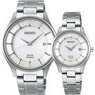 【送輕量背包】SEIKO 精工 SPIRIT SMART 鈦金屬對錶 V157-0BX0S+V137-0CS0S(SBPX101J+STPX041J)