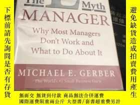 二手書博民逛書店The罕見E-Myth Manager: Why Most Ma