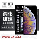 【愛瘋潮】Apple iPhone  Xs Max 6.5吋  超強防爆鋼化玻璃保護貼 (非滿版) 螢幕保護貼