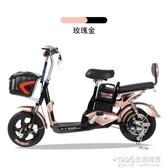 電動車 電動車48V成人電動自行車電瓶車男女性雙人代步車 1995生活雜貨NMS