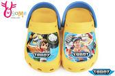 機器戰士 布希鞋 台灣製 輕便鞋 園丁鞋H5674#黃色◆OSOME奧森童鞋/小朋友