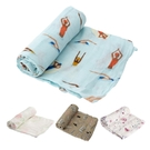 美國 Little Unicorn 竹纖維紗布巾單入組/包巾(4款可選)