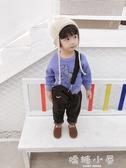 棉小班兒童冬裝衛衣韓版潮1-3歲寶寶休閒上衣男童恐龍字母套頭衫  嬌糖小屋