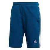 ADIDAS ORIGINALS 3-STRIPES 深藍 三線 短褲 (布魯克林) 2019/05月 DV1526
