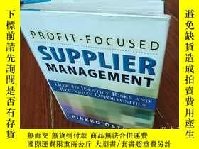 二手書博民逛書店PROFIT罕見- FOCUSED SUPPLIER MANAG