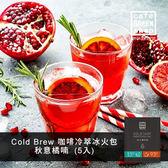 【咖啡綠商號】Cold & Hot咖啡冷萃冰火包-秋意橘喃(5入)