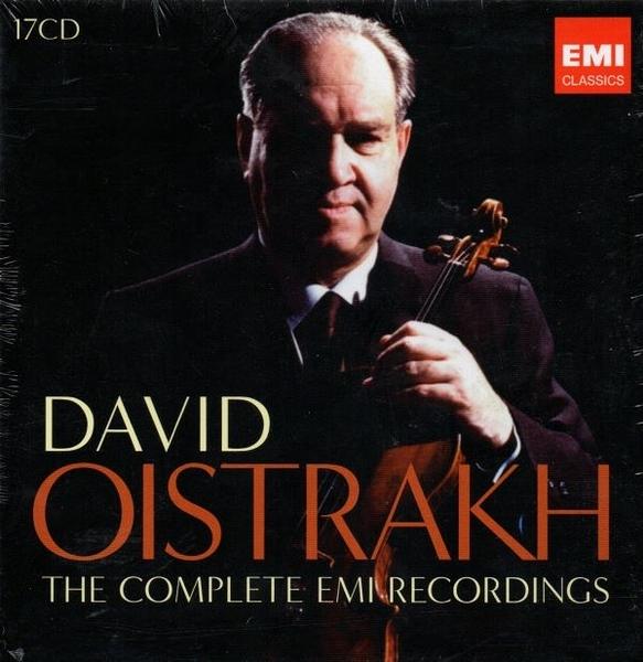 【停看聽音響唱片】【CD】DAVID OISTRAKH THE COMPLETE EMI RECORDINGS