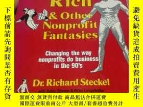 二手書博民逛書店Filthy罕見Rich $ Other Nonprofit Fantasies 英文原版平裝16開Y2040