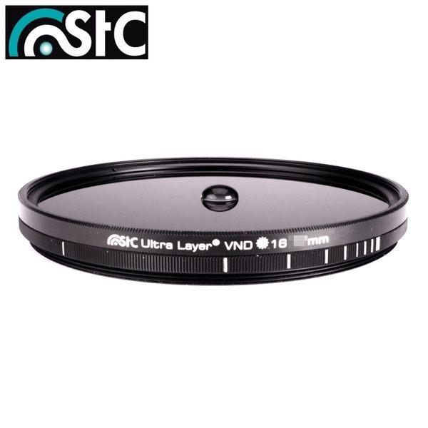 我愛買#STC薄框可調VND濾鏡ND16-4096多層鍍膜72mm減光鏡低色偏可調式ND減光鏡全黑色濾鏡