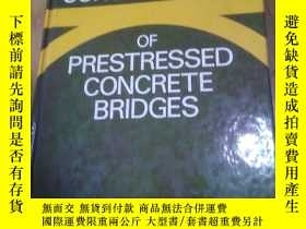 二手書博民逛書店预应力混凝土桥梁悬臂梁施工罕見THE CANTILEVER CONSTRUCTION OF PRESTRESSED