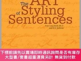 二手書博民逛書店The罕見art of styling sentence.Y483847 Ann Longnife Barr