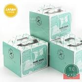 【5套】 4寸迷你蛋糕盒手提西點烘焙包裝盒打包紙盒【福喜行】