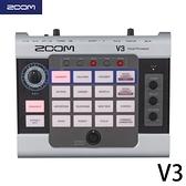 【非凡樂器】Zoom V3 人聲效果處理器公司貨 贈導線