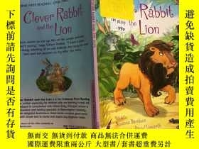 二手書博民逛書店clever罕見rabbit and the lion聰明的兔子和獅子Y200392