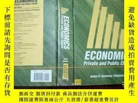二手書博民逛書店ECONOMICS罕見SIXTH EDITION private