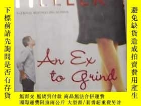 二手書博民逛書店英文原版罕見An Ex To Grind by Jane Hel