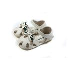 兒童鞋 涼鞋 小女生鞋 護趾 米色 小童 童鞋 B1026 no184