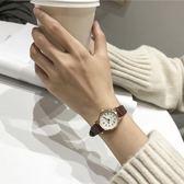 復古文藝chic風女生小清新款百搭手錶女學生韓版簡約潮流ulzzang 免運快速出貨