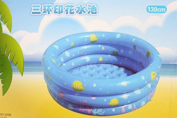 幼兒充氣水池 三環圓形戲水池 YT-028A 兒童游泳池 直徑150cm/一個入{促999}