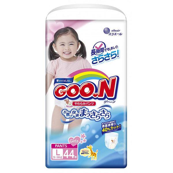 【GOO.N 日本大王】日本境內版(女)-大王褲型L-44*3串/箱-箱購