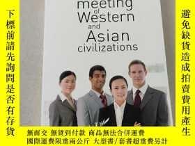 二手書博民逛書店Business罕見and the meeting of Western and Asian civilizati
