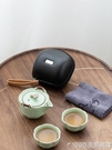 汝窯快客杯一壺一杯陶瓷二三人旅行功夫茶具小套裝便攜式茶壺茶杯 1995生活雜貨