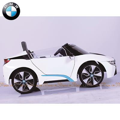 BMW I8 雙驅搖控電動車 白【台安藥妝】