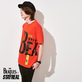 STAYREAL x The Beatles 潮流文字T